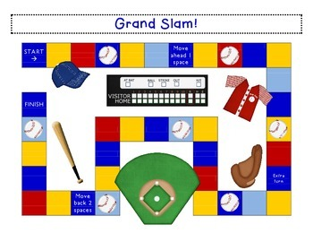 Mix & Match Game Board {Baseball}