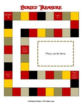 Mix & Match File Folder Game Board {Pirate}