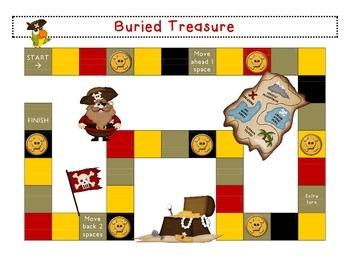 Mix & Match Game Board {Pirates}