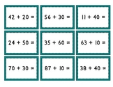 Mix & Match Game Cards {Adding and Subtracting Multiples of 10}