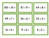 Mix & Match Game Cards {Division}