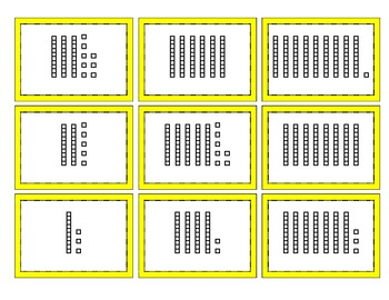 Mix & Match Game Cards {Simple Place Value}