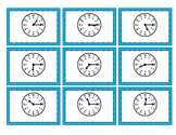 Mix & Match Game Cards {Telling Time to the Quarter Hour}