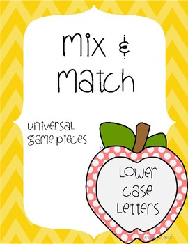 Mix & Match Lower Case