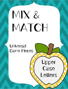 Mix & Match Upper Case