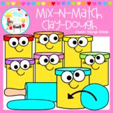 Mix-N-Match: Clay Dough Clipart