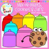 Mix-N-Match: Cookies & Jars Clipart