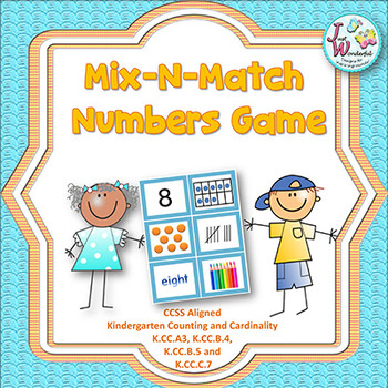 Number Sense 1-10 Math Game