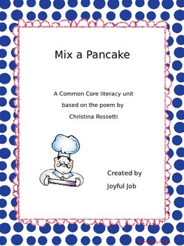 Mix a Pancake Literacy Unit