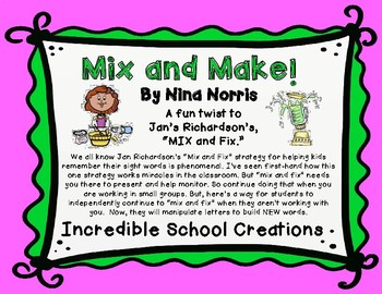 Mix and Make