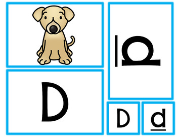 Mix and Match Alphabet and Letter Sounds