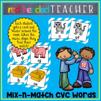 Mix and Match CVC Words
