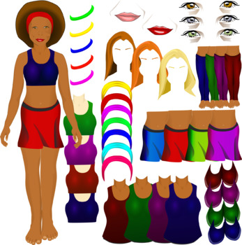 Mix and Match Female Body Parts