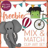 Mix and Match Clip Art Set [FREEBIE]