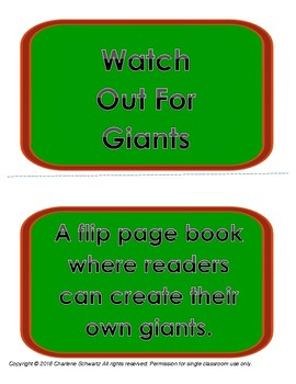 Mix and Match Giants Book