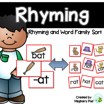 Mix and Match Rhyming and Word Family Centers