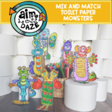 Mix and Match Toilet Paper Monsters
