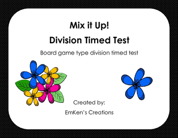 All Mixed Up! Division Time Test