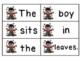 Mix it Up-Fall Sentences