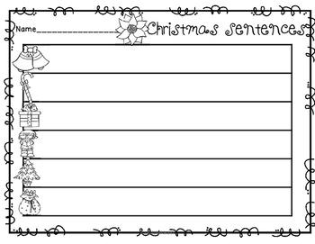 Mix it Up - Winter Sentences
