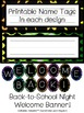 Mix n Match Animal Print Themed Classroom set *EDITABLE*