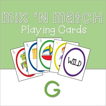 Mix 'n Match Articulation Cards /G/