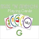 Mix 'n Match Articulation Cards /G/
