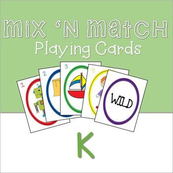 Mix 'n Match Articulation Cards /K/