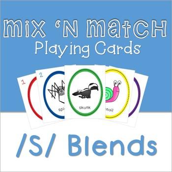 Mix 'n Match Articulation Cards /S/ blends