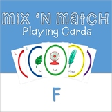 Mix 'n Match Articulation Playing Cards /F/