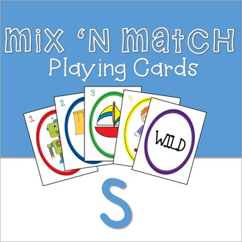 Mix 'n Match Articulation Playing Cards /S/