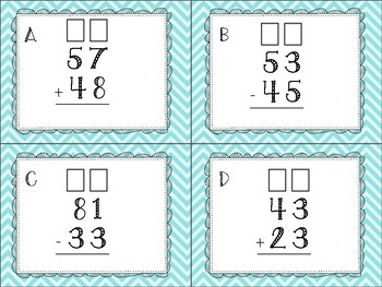 Mixed 2 Digit Regrouping Scoot