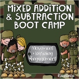 Mixed Addition & Subtraction Boot Camp