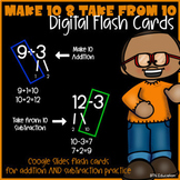 Mixed Addition & Subtraction-Digital Math Fact Flash Cards - (Distance Learning)