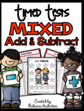 Addition and Subtraction Mixed Timed Tests