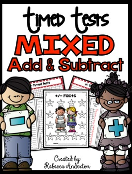 Fact Fluency Mixed Addition and Subtraction