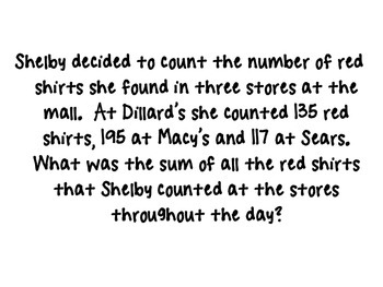 Mixed Addition and Subtraction Word Problems PowerPoint