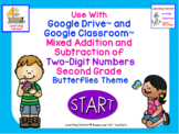 Mixed Addition and Subtraction of 2 Digit Numbers 2nd Grad