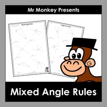 Mixed Angle Rules Worksheets