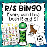 Mixed Articulation BINGO with R and S in Every Word