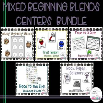 Mixed Beginning Blends Centers Bundle