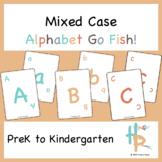Mixed Case Alphabet Go Fish!