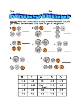 Mixed Coin Bingo