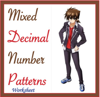 Mixed Decimal Number Patterns