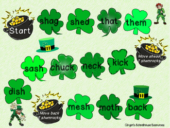 Mixed Digraphs for St. Patrick's Day Board Game