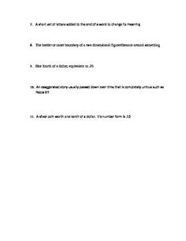 3rd Grade Mixed ELAR/Math Test Week 4 Correlates with Power Point Week 4