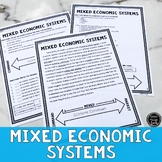 Mixed Economic Systems Reading Activity (SS6E7, SS6E7b)