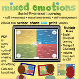 Mixed Emotions: Social Emotional Learning (Screen Share an