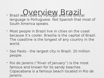 Mixed Flavors of Brazil