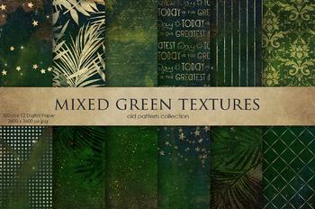 Mixed Green Textures
